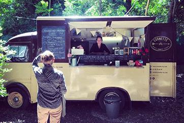 Vintage Food Truck Cornette