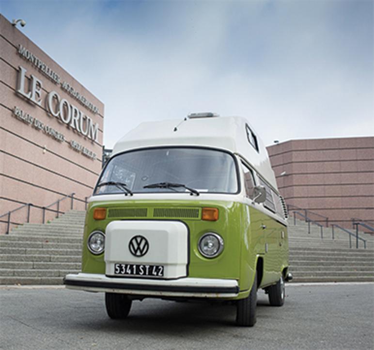 combi volkswagen vintage montpellier