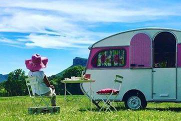 location caravane mariage