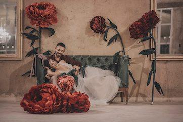 fleurs en papier mariage